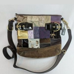 Coach patchwork holiday bag 3573